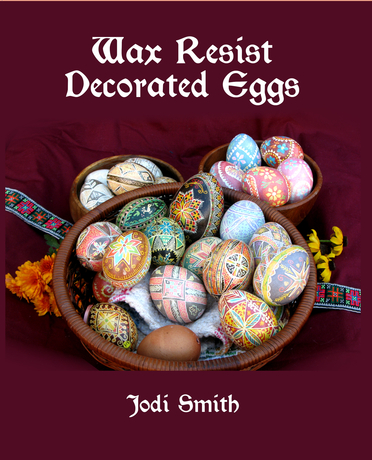Wax Resist Decorated Eggs book cover